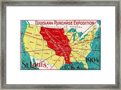 1904 Louisiana Purchase Exposition Framed Print by Historic Image