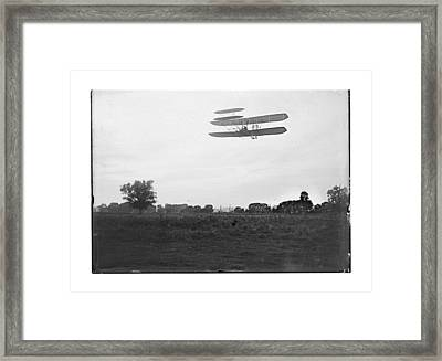 1905 Orville Wright Flight 41 Framed Print by MMG Archives