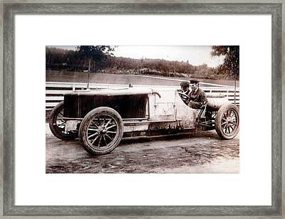1905 Vcr Elim Harbor Hill Glen Cove Road Framed Print by MotionAge Designs