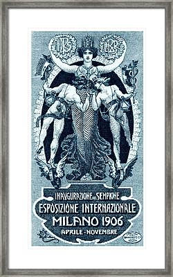 1906 Milan International Expo Framed Print by Historic Image