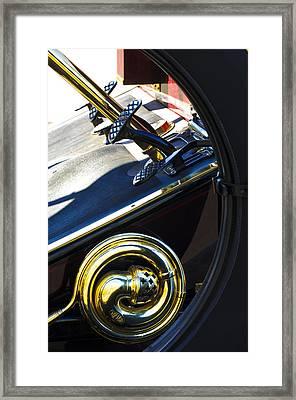 1907 Panhard Et Levassor Demi Toneau 38 Hp Horn Framed Print by Jill Reger