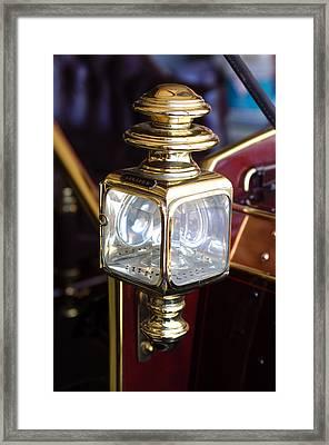 1907 Panhard Et Levassor Lamp Framed Print by Jill Reger