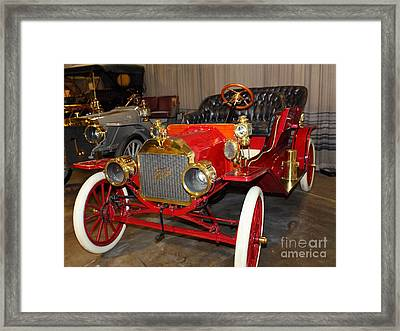 1908 Ford Model T Touring 5d25558 Framed Print by Wingsdomain Art and Photography