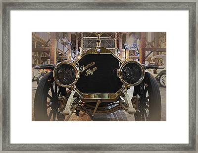 1908 Thomas Flyer Framed Print