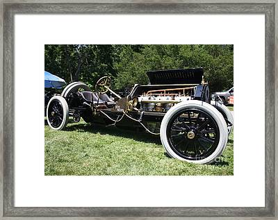 1909 Alco 6 American Locomotive Co Racing Car Framed Print