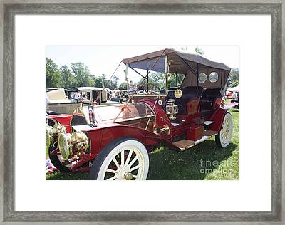 1909 Pierce Arrow Double Roadster Framed Print