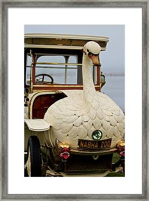 1910 Brooke Swan Car Framed Print