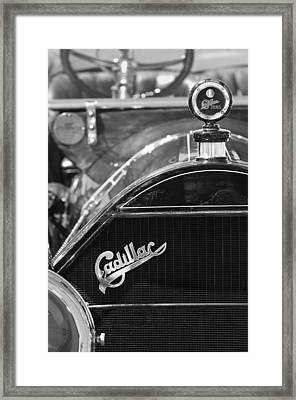1911 Cadillac Roadster Grille And Hood Ornament Framed Print by Jill Reger