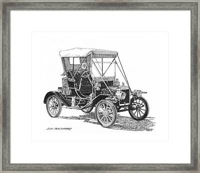 Ford Model T Tin Lizzie Framed Print