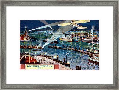 1911 German Air Race Framed Print
