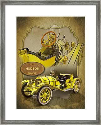 1911 Hudson Model 33 Sportster Framed Print by Roger Beltz