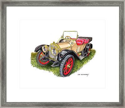 1912 Oldsmobile Defender Framed Print by Jack Pumphrey