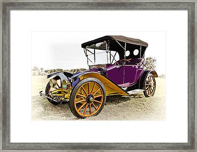 1913 Argo Electric Model B Roadster Framed Print by Marcia Colelli