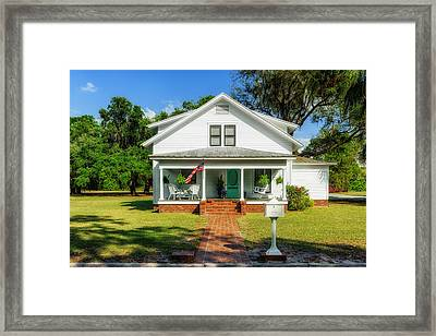 1914 Central Florida Home Framed Print