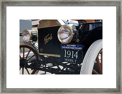 1914 Ford Model T Framed Print