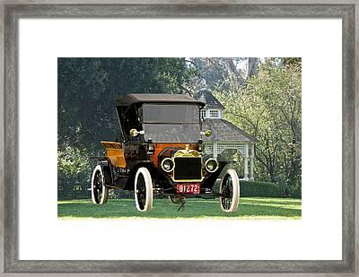 1914 Model T Pick Up Framed Print by Dave Koontz