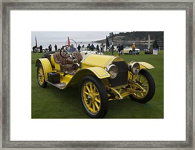1914 Stutz Series E Bearcat Framed Print