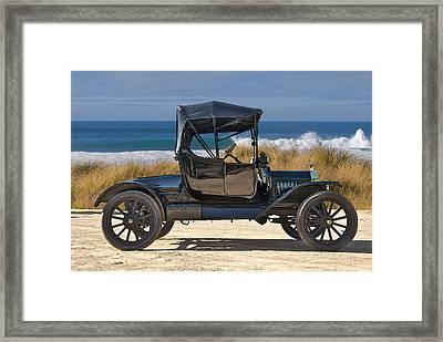 1915 Ford Model T Roadster Vii Framed Print by Dave Koontz