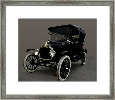 1915 Ford Model T Framed Print by Tim McCullough
