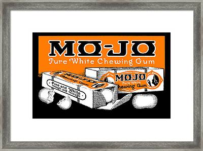 1915 Mo Jo Chewing Gum Framed Print by Historic Image