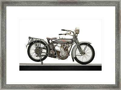 1916 Harley Davidson Model 16 5-35 Framed Print by Panoramic Images