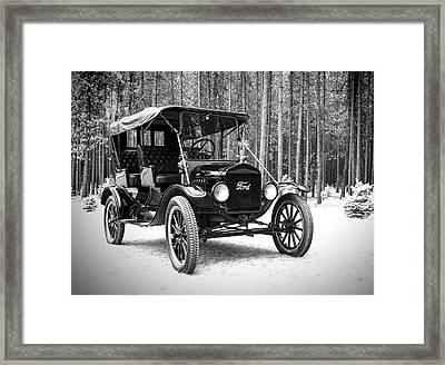 1917 Ford Touring Car Framed Print by Daniel Hagerman