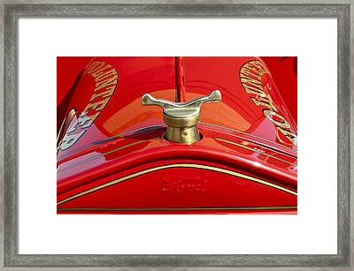 1919 Ford Volunteer Fire Truck Framed Print