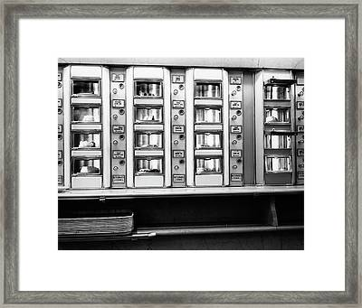 1920s 1930s 1940s 1950s Series Automat Framed Print