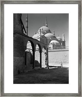 1920s 1930s Cairo Egypt Architectural Framed Print