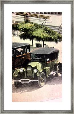 1920's Automobiles Framed Print