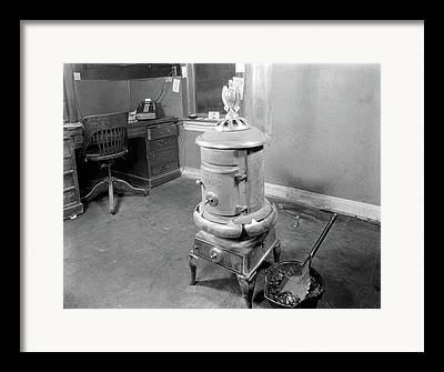 Old Heater Photographs Framed Prints