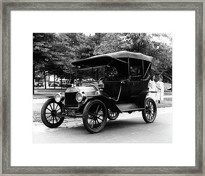 1920s Model T Ford Touring Car Framed Print