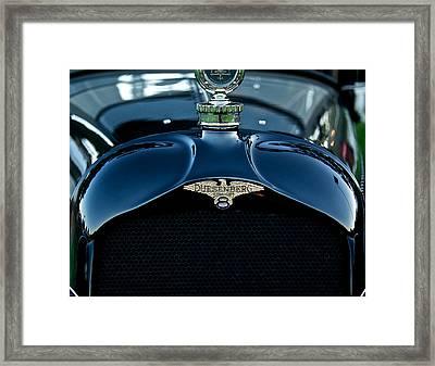 1921 Duesenberg A Bender Coupe Framed Print by Dave Koontz