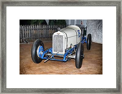 1921 Duesenberg Race Car Framed Print