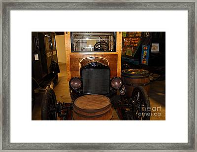 1921 Ford Model T Snowmobile 5d25582 Framed Print by Wingsdomain Art and Photography