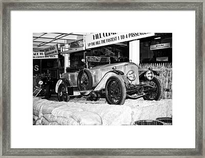 Framed Print featuring the photograph 1921 Vauxhall 30/98e by Boris Mordukhayev