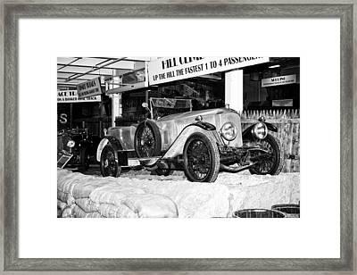 1921 Vauxhall 30/98e Framed Print
