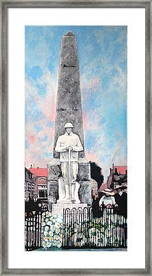 1921 War Memorial Framed Print