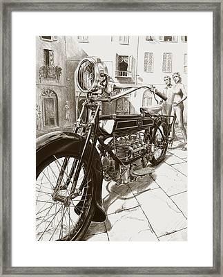 1922 F/n Framed Print by Norman Bean