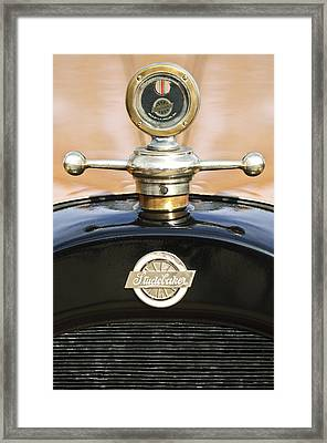 1922 Studebaker Touring Hood Ornament Framed Print