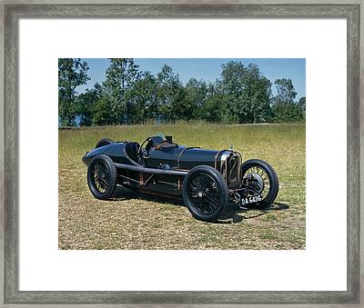 1922 Sunbeam Strasbourg 2.0 Litre Grand Framed Print by Panoramic Images