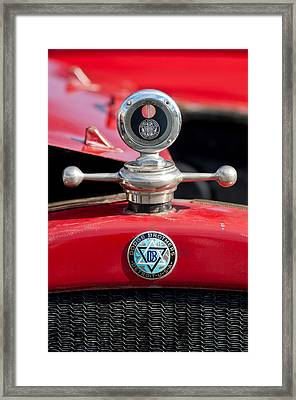 1923 Dodge Brothers Hood Ornament Framed Print by Jill Reger