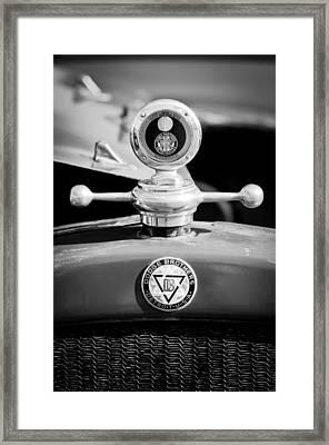 1923 Dodge Brothers Motometer - Hood Ornament - Emblem Framed Print