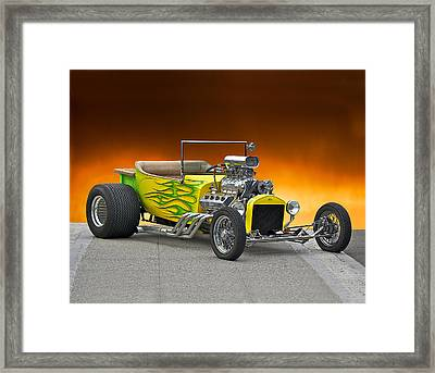 1923 Ford Bucket T Pick Up Framed Print by Dave Koontz