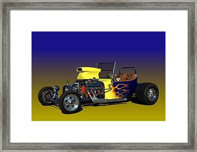 1923 Ford Bucket T Framed Print by Tim McCullough