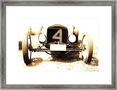 1923 Ford Frontenac Model T Racer Framed Print