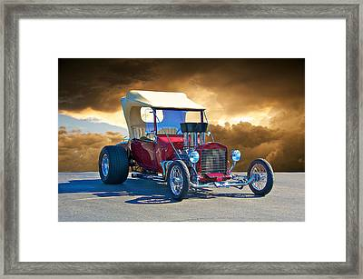 1923 Ford 'inject T' Roadster Framed Print