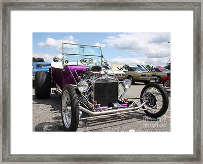 1923 Ford Model T Convertible Roadster Framed Print by John Telfer