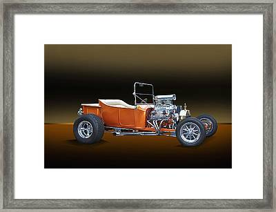 1923 Ford Model T Roadster Framed Print by Dave Koontz