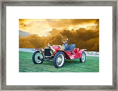 1923 Ford Model T Speedster Framed Print by Dave Koontz